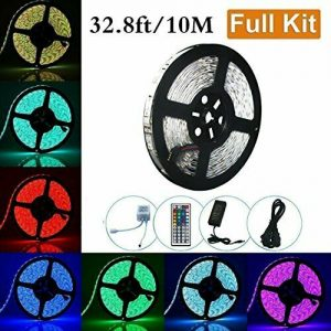 LED Strip Light 32.8ft SMD 5050 10M 600leds RGB Non-Waterproof Flexible Color
