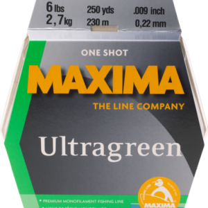 Maxima Ultragreen One Shot Premium Monofilament Fishing Line